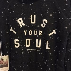 "Spiritual Gangster Tops - Spiritual Gangster Zip up Hoodie ""trust your soul"""